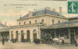63 , CLERMONT FD , L'Hirondelle , La Gare  , * LC 380 81 - Clermont Ferrand