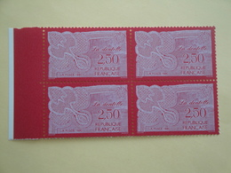1990 France  Yv 2631 X 4 ** Art De La Dentelle Cote 4.80 € Michel 2756 Scott 2205 - France