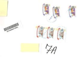 RUSSIA - 2019 Raccomandata Per L'estero Con 6 Francobolli 2009 Vedute Kremlino + Etichetta Racc. - 4588 - Lettres & Documents