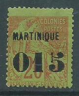 Timbre Martinique Yvt N° 6 - Gebraucht