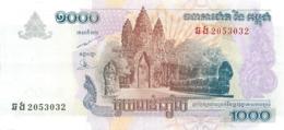 CAMBODGE CAMBODIA 1000 - Cambodia