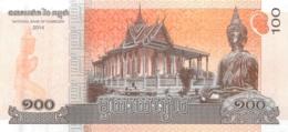 BILLET CAMBODGE 100 - Cambodia