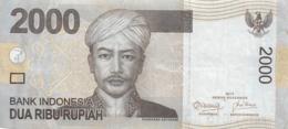 BILLET  INDONESIA  2000 DUA RIBU RUPIAH - Indonésie