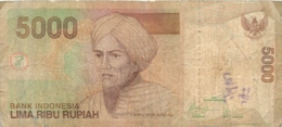 BILLET  INDONESIA  5000  LIMA  RIBU RUPIAH - Indonésie