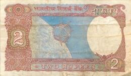 BILLET  INDIA 2  TWO RUPEES - Inde
