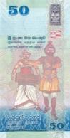 BILLET  SRI LANKA 50  FIFTY RUPEES - Sri Lanka