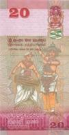 BILLET  SRI LANKA 20  TWENTY  RUPEES - Sri Lanka