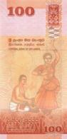 BILLET  SRI LANKA 100  ONE HUNDRED   RUPEES - Sri Lanka