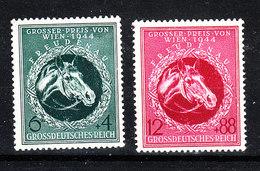 Germania Reich - 1944. G.P. Ippico. Horse Grand Prix. MNH, Fresh - Ippica