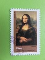 """Timbre France YT 4135 (AA N° 153) - Chefs D'oeuvre De La Peinture - """"La Joconde"""" - Léonard De Vinci - 2008 - Frankrijk"""