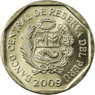 Monnaie, Pérou, Nuevo Sol, 2009, Lima, SUP, Copper-Nickel-Zinc, KM:308.4 - Peru