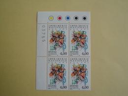 1991 France  Yv 2691 X 4 ** Imprimerie Cote 8.00 € Michel 2830 Scott 2249 - France