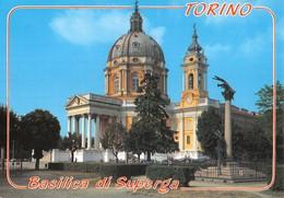 "3212""TORINO-BASILICA DI SUPERGA ""ANIMATA CART. POST. ORIG. NON SPED. - Churches"