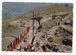 SARE --env 1960--Col De St Ignace --La Rhune--Le Chemin De Fer à Crémaillères (animée) - Sare