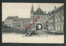 Clermont S. B. - L'Hôtel De Ville. Animation. - Engis