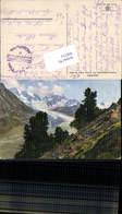 Tschiervagletscher Pontresina Graubünden Photochromie Nenke & Ostermaier 234-3786 - GR Graubünden