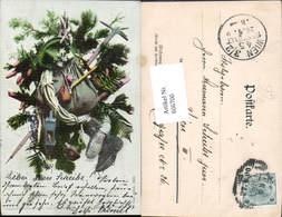 606700,Jagd Jäger Wanderer Bergsteiger Pub Photochromie Nenke & Ostermaier Dresden 75 - Jagd
