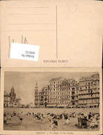 606535,Ostende La Plage Et Les Hotels Strand Strandleben Belgium - Belgien