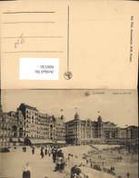 606530,Ostende Hotels Op Den Dijk Strand Strandleben Belgium - Belgien
