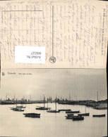 606527,Ostende Vue Vers La Mer Segelboote Boote Belgium - Belgien
