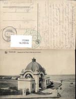 606521,Ostende Ingang Van Het Palace Hotel Aan Het Strand Belgium - Belgien