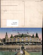606519,Ostende Kursaal Vue De La Plage Belgium - Belgien