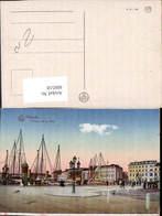 606518,Ostende L Entree De La Ville Segelschiffe Segelboote Belgium - Belgien