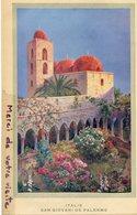 - Magnifique Image, Chromo, Italie, San Giovani De Palerme, D'après Tableau Signée E P ?, TTBE, Scans. - Vieux Papiers