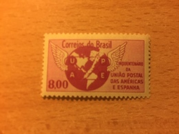"""Brasile, 1962, Singolo """"The 50th Anniversary Of The Postal Union Of The Americas And Spain"""" - Nuovi"""