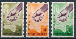 °°° BURUNDI - Y&T N°17/18 - 1963 MNH °°° - Burundi
