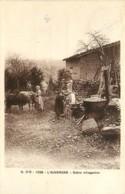 63 , Scene Villageoise , Remouleur , * CF 389 48 - France