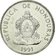 Monnaie, Honduras, 50 Centavos, 1991, SPL, Nickel Plated Steel, KM:84a.1 - Honduras