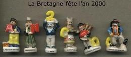 Serie Complete De 6 Feves La Bretagne Fete L An 2000 - Région