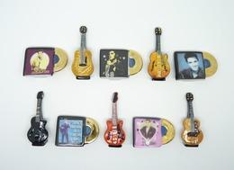 Serie Complete De 10 Feves Elvis Presley - Love Me Tender - Personnages