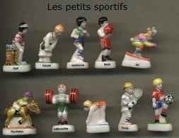 Serie Complete De 10 Feves Les Petits Sportifs - Sports
