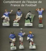 Serie Complete De 7 Feves Complement De L Equipe De France De Football - Sports