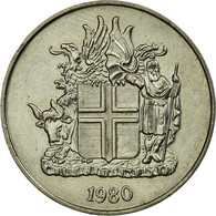 Monnaie, Iceland, 10 Kronur, 1980, SUP, Copper-nickel, KM:15 - Islande