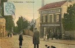 95 , MONTMORENCY , Porte Rouge , Carte Toilée , * 393 57 - Montmorency