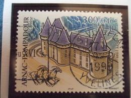 """90-99  - Timbre Oblitéré N° 3279   """" Arnac Pompadour    """"     0.50 - France"""