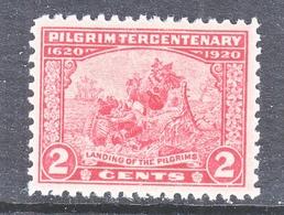 U.S. 549  X F  **   PILGRIMS LANDING - Unused Stamps
