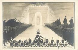 Illustration De J. Coulon , Batailles De L'Empereur Napoléon , Série De 20 Cp , Ombres Chinoises , * 395 00 - Illustrateurs & Photographes