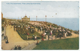 Folkestone: The Leas Bandstand - Folkestone