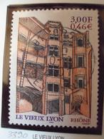"""2000-2009    - Timbre Oblitéré N° 3390   """"   Le Vieux Lyon  """"    0.30 - France"""