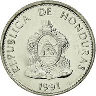 Monnaie, Honduras, 20 Centavos, 1991, SPL, Nickel Plated Steel, KM:83a.1 - Honduras