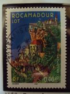 """2000-2009    - Timbre Oblitéré N°  3492  """"  Rocamadour   """"     0.50 - France"""
