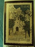 """2000-2009    - Timbre Oblitéré N°  3496  """"  Chapelle De St Ser   """"      0.50 - France"""