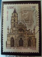 """2000-2009    - Timbre Oblitéré N° 3586   """"  Eglise  De St Père   """"    0.25 - France"""