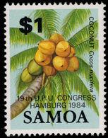 Samoa 1984 Hamburg UPU Unmounted Mint. - Samoa