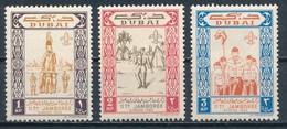 °°° DUBAI - Y&T N°22/24 - 1963 MNH °°° - Dubai