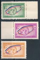 °°° REPUBBLICA DOMINICANA - Y&T N°587/89 - 1963 MNH °°° - Repubblica Domenicana